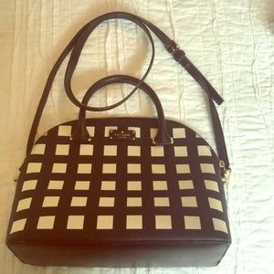 Kate Spade checkered bag great condition